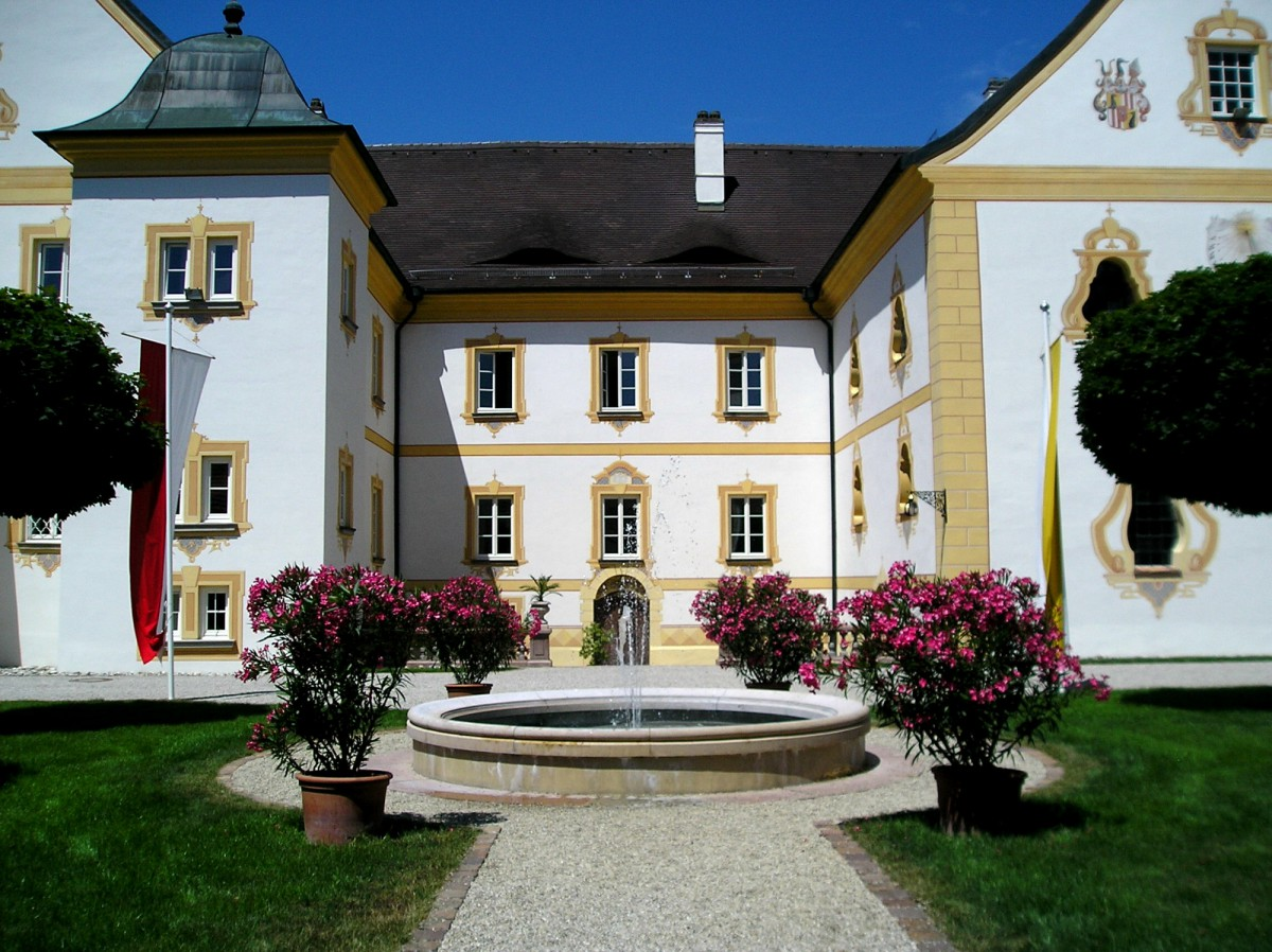 Innenhof Schloss Thurnstein