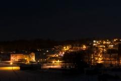 Nacht Panorama Postmünster
