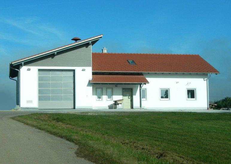 Einweihung Feuerwehrhaus Gangerbauer
