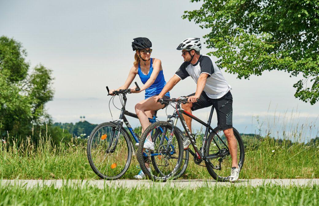 Ferienprogramm: Fahrspaß und Sicherheit mit dem Mountainbike
