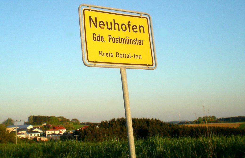 Baupläne für das Dorfgemeinschaftshaus Neuhofen