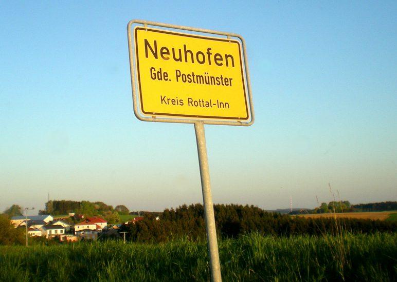 Dorferneuerung Neuhofen Präsentation Umbau Alte Schule