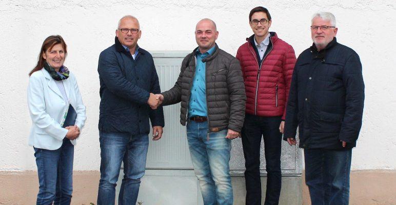 Breitband: Postmünster an die Datenautobahn angeschlossen