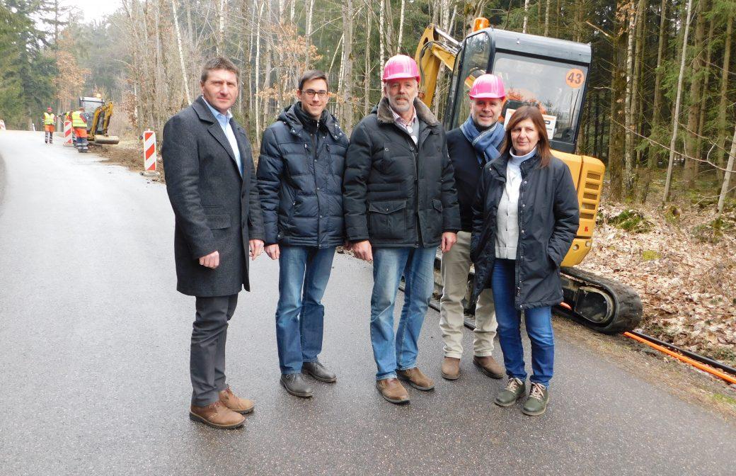 Breitbandausbau Nord gestartet